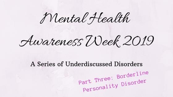 MHAW19: Maladaptive not Manipulative - What I Wished Mental Health