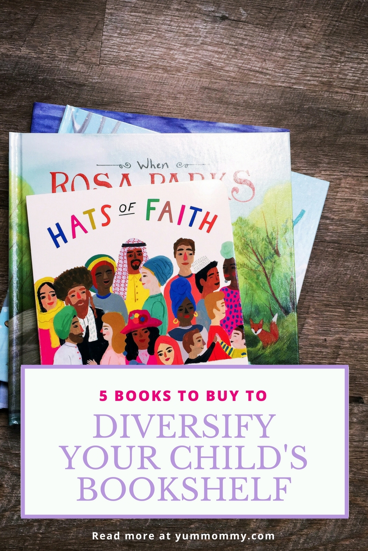 5 Books To Buy Diversify Your Childs Bookshelf
