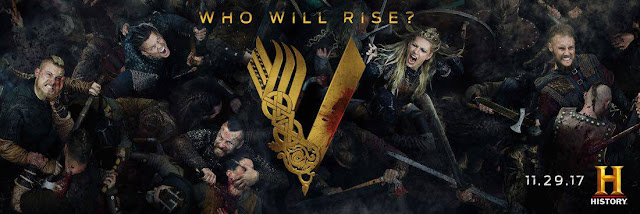 VIKINGS - Recensione 5x01-02  The Departed