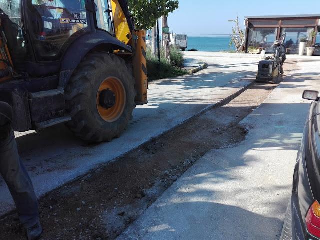 Πρέβεζα: Αποκατάσταση στους δρόμους του Καναλίου από το έργο του βιολογικού