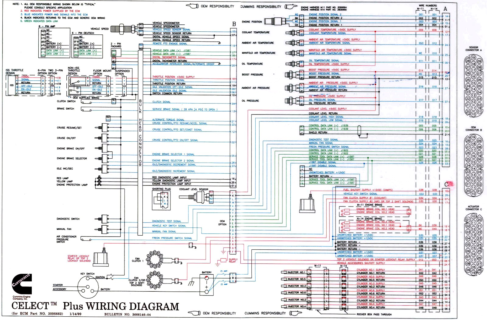 Celect+Plus+Wiring+Diagram+Cummins kenworth t660 wiring diagram kenworth t660 schematics \u2022 wiring International Prostar Front Grill at bayanpartner.co