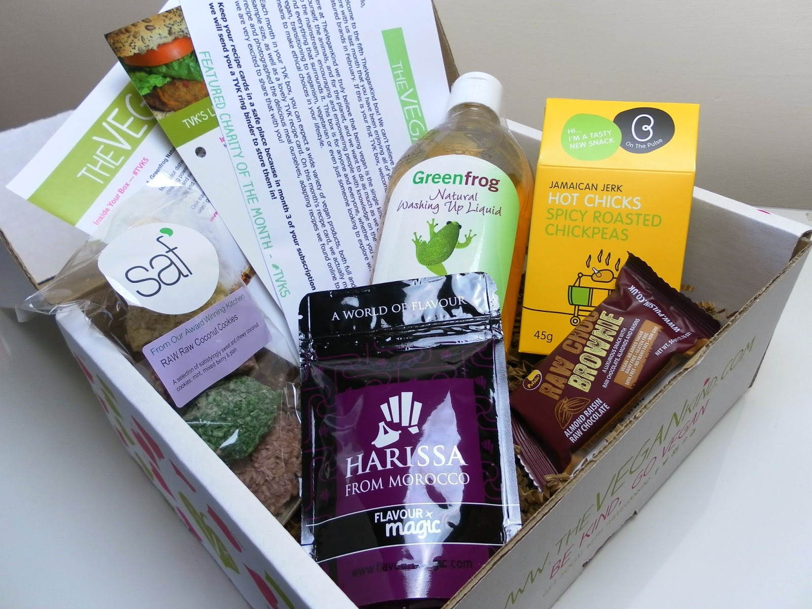 TheVeganKind March box