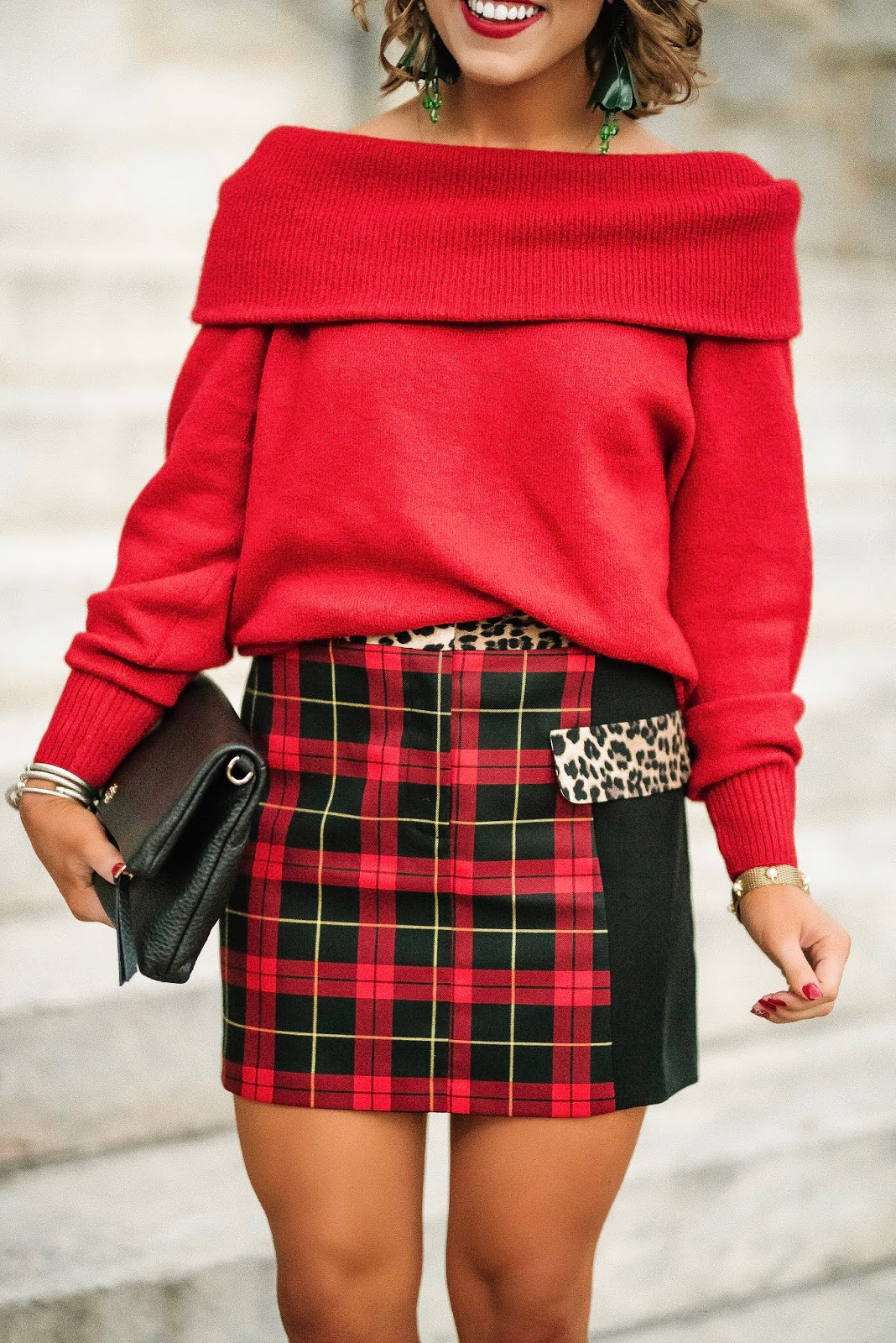 Red, Plaid and Leopard + Cyber Monday Sales!!! - Something Delightful Blog