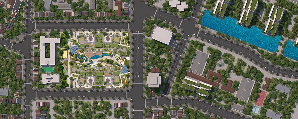 Quy mố tổng thể dự án chung cư Imperia Sky Garden Minh Khai
