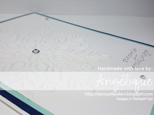 Stampin' Up! producten koop je bij de Stempelkeuken #stempelkeuken #stampinup #stampinupnl #cheerstotheyear #newyear #christmas #newyearsday #happynewyear #snowflakes #winter #denhaag #thehague #westland #nederland #creatief #winterwonderTIEF #embossing #bigshot #cardmaking #papercrafting #creative