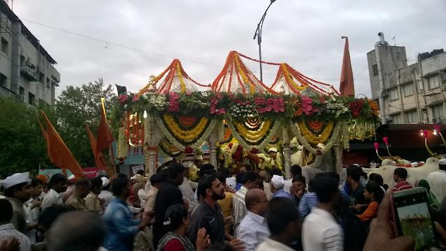 Palkhi, Wari, Pune