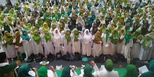 Ribuan Pemilih Perempuan di Banyumas Dukung Jokowi-Amin