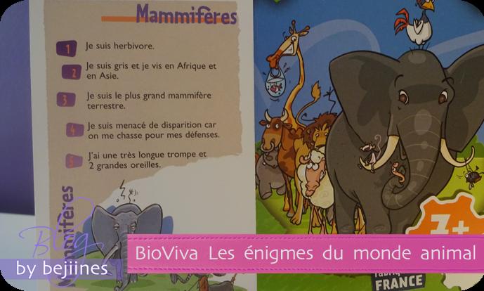 Bioviva - Les Enigmes Le Monde Animal