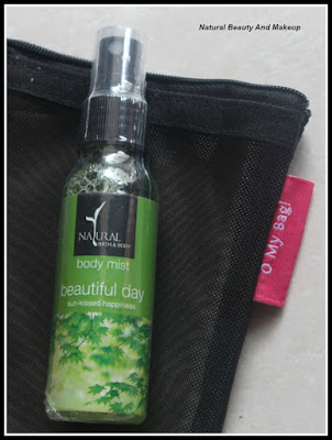 Beautiful day, Body Mist