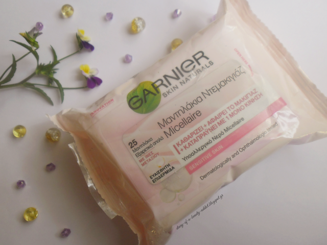 Garnier Micellaire Cleansing Wipes : Review