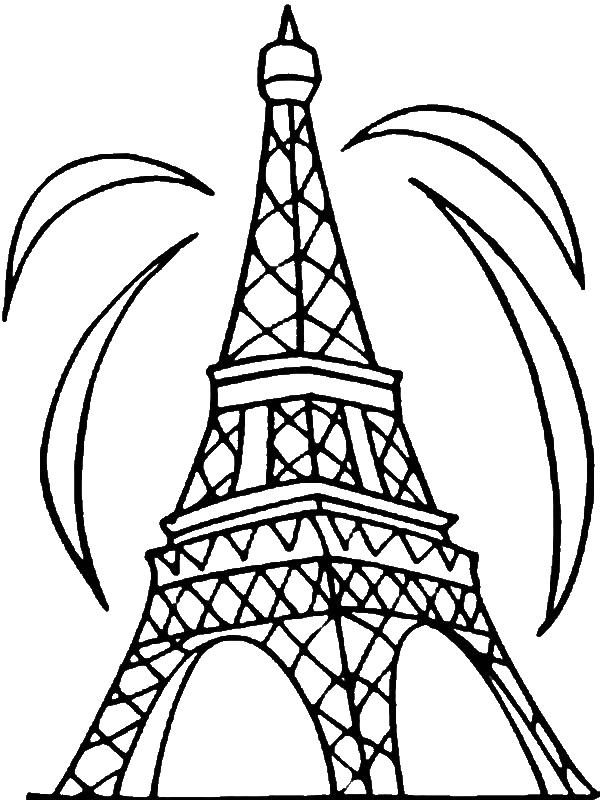 Melhores Desenhos Para Colorir 5 Desenhos De Torre Eiffel