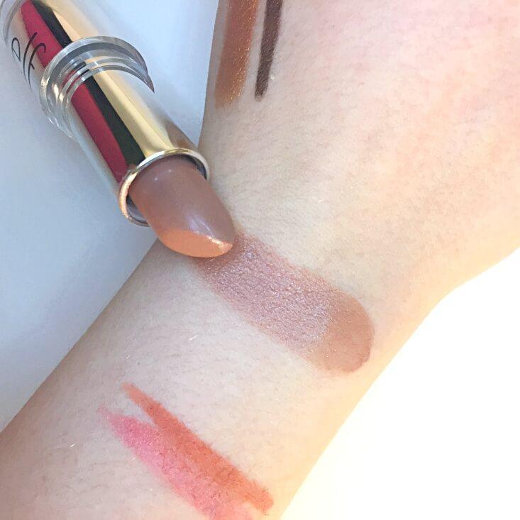 e.l.f. Beautifully Bare Satin Lipstick Touch of Nude