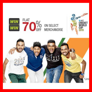ICC Cricket World Cup Clothing 80% off