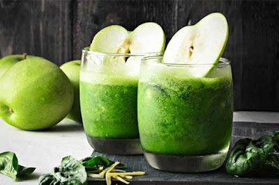فوائد عصير التفاح الاخضر والرجيم