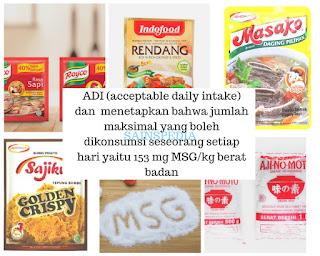 ketahui Batasan konsumsi MSG dalam bahan penyedap makanan