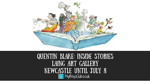 Quentin Blake: Inside Stories - Laing Art Gallery, Newcastle (REVIEW)