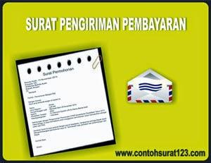 Gambar Contoh Surat Pengiriman Pembayaran Barang/Produk