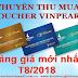 Thu mua voucher Vinpearl Condotel & Villas tháng 08/2018