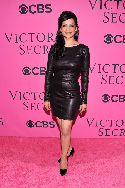 Lovely Ladies In Leather Archie Panjabi In A Black