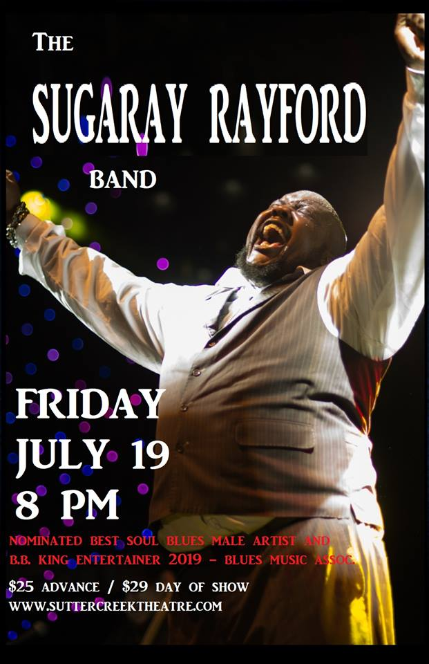The Sugary Rayford Band - Fri July 19