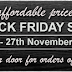 #BlackFriday Tools4Wood SA – Black Friday Sale 2017