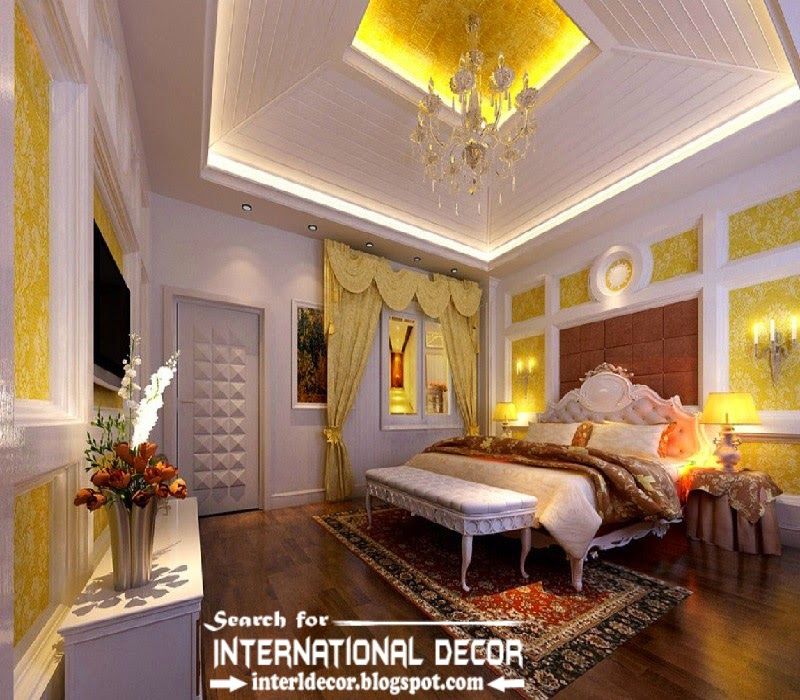 luxury bedroom decorating ideas designs furniture 2015, luxury bedroom ceiling designs lighting