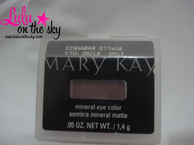 Sombra Mineral Mary Kay Cinnabar (Matte): eu testei -blog luluonthesky