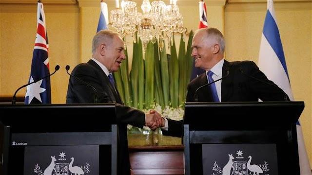 Australian Prime Minister Malcolm Turnbull backs Israel, slams United Nations