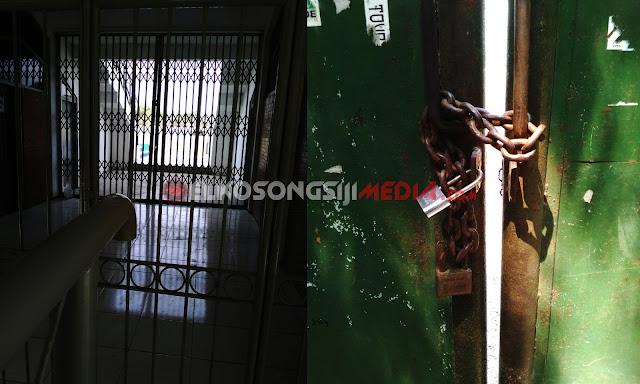 Suara Pembaca I Setelah Disidak Petinggi PSMP Mojokerto, Gerbang Ditutup Rapat-rapat