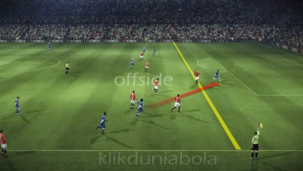 Pengertian Offside Dalam Pertandingan Sepakbola Informasi Dunia Sepak Bola