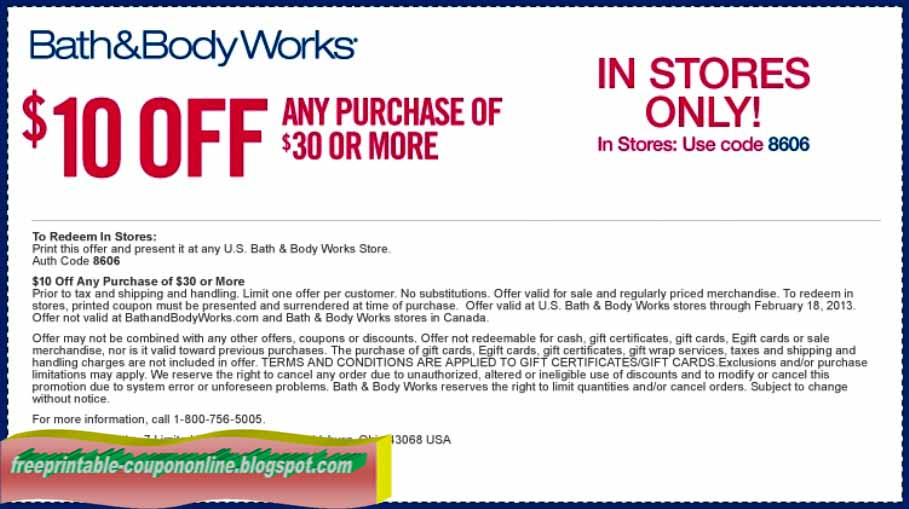 bath body and beyond coupon