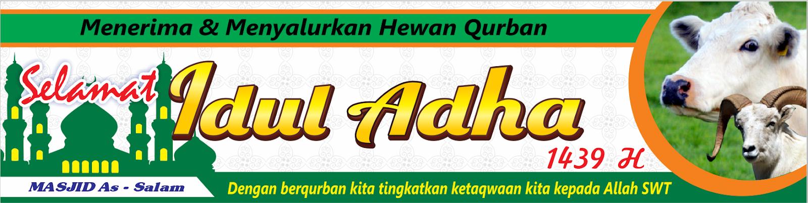 Contoh Desain Spanduk Idul Adha Format CDR - Contoh Design ...