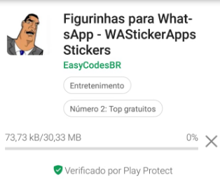 Download de stickers