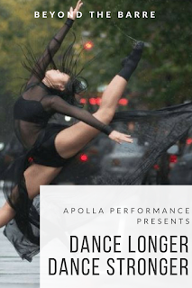 "Apolla Performance presents ""Dance Longer Dance Stronger"" - and a coupon"