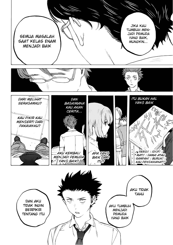Koe no Katachi Chapter 35-7
