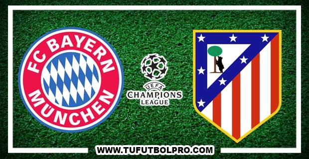 Ver Bayern Munich vs Atlético Madrid EN VIVO Por Internet Hoy 6 de Diciembre 2016