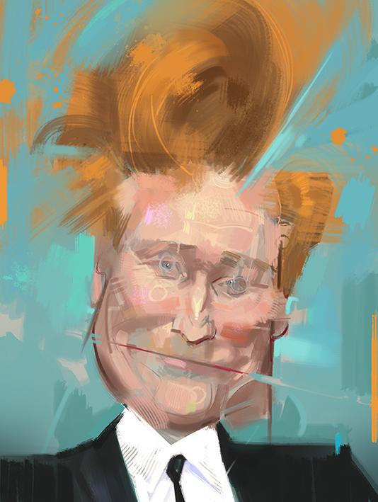 """""""Conan O'Brien"""" por Wouter Tulp"""