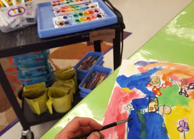 8 Essential Tips for Teaching Painting from a Cart