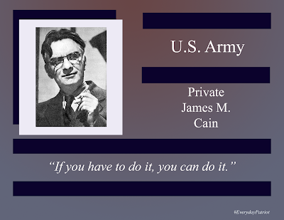 A short biopic of U.S. Army private James Mallahan Cain WWI Veteran