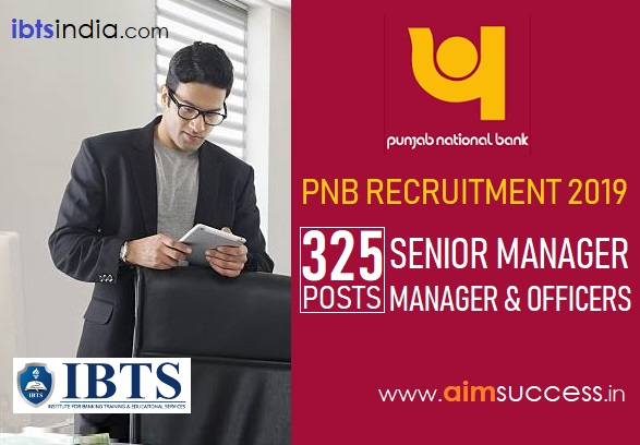 PNB Recruitment 2019 325 SM, Manager & Officer Posts (Apply Online)