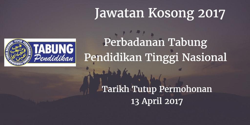 Jawatan Kosong PTPTN 13 April 2017