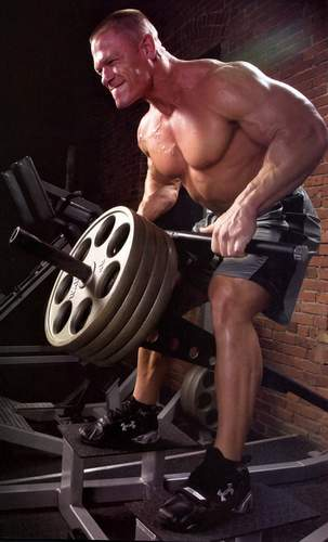 Body building plaza because nothing is beyond your - John cena gym image ...