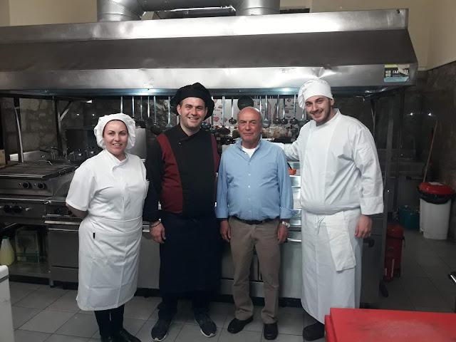 """Η τουριστική σχολή ΙΕΚ Πελοποννήσου συμμετείχε σε εκδήλωση με θέμα την """"Ποντιακή κουζίνα"""""""