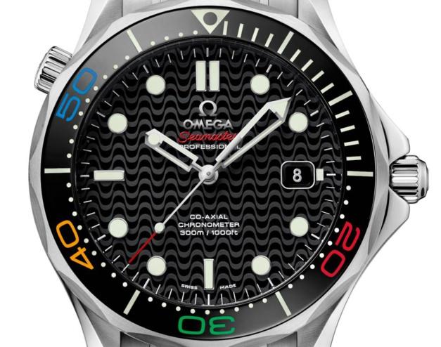 Omega Seamaster Diver 300M Rio 2016