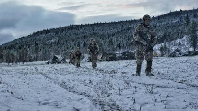 OTAN lanza en Noruega maniobras más grandes desde la Guerra Fría