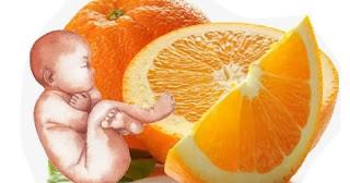 فوائد البرتقال للجنين والحامل