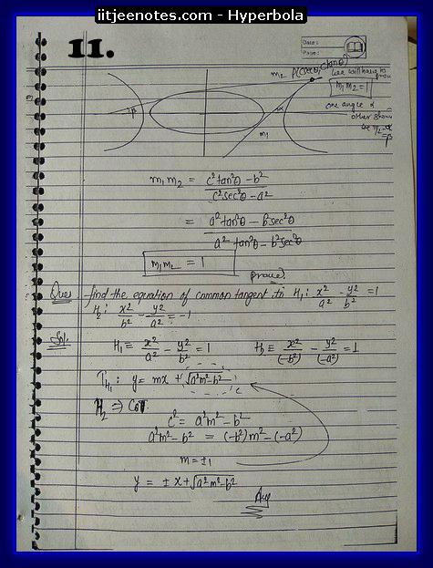 hyperbola cbse notes2