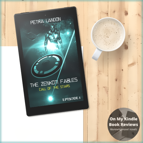 Call of the Stars by Petra Landon, Bookstagram by On My Kindle Book Reviews