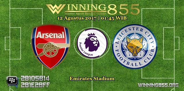 Prediksi Skor Arsenal vs Leicester City 12 Agustus 2017