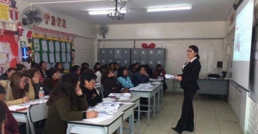 MINEDU: Más de 13 mil docentes de primaria participarán en talleres informativos antes de ser evaluados en su desempeño